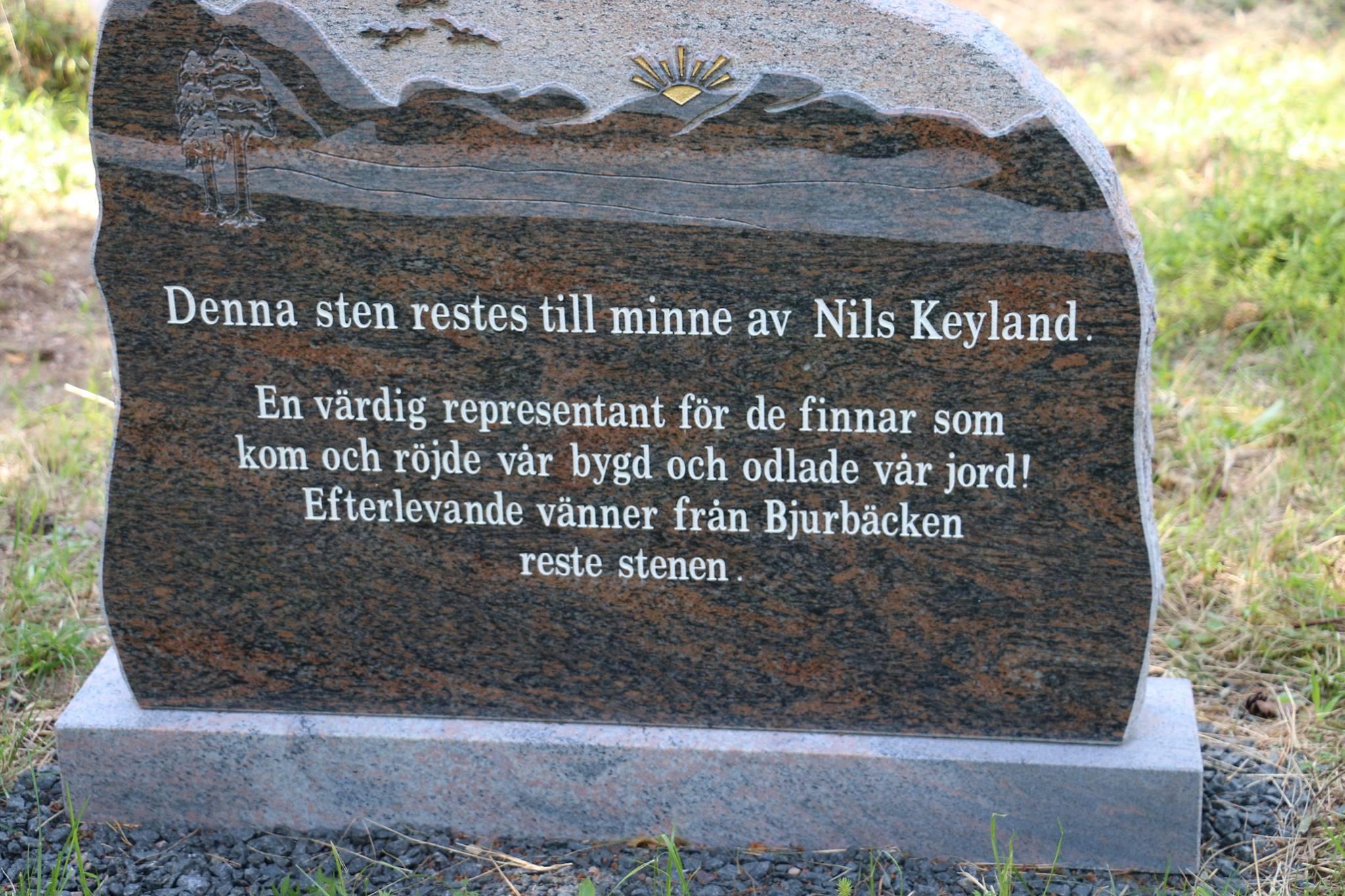 Minnesten-Nils-Keyland